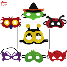 CUTE owl  bee ladybird cosplay animal masks for kids birthday festival party