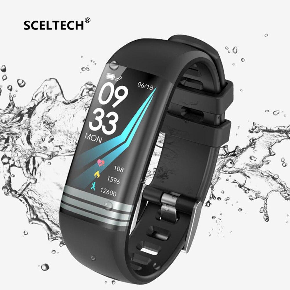 SCELTECH G26 Smart Fitness Bracelet Color Screen Waterproof Heart Rate Blood Pressure Oxygen Multi Sport Mode Band For Men Women