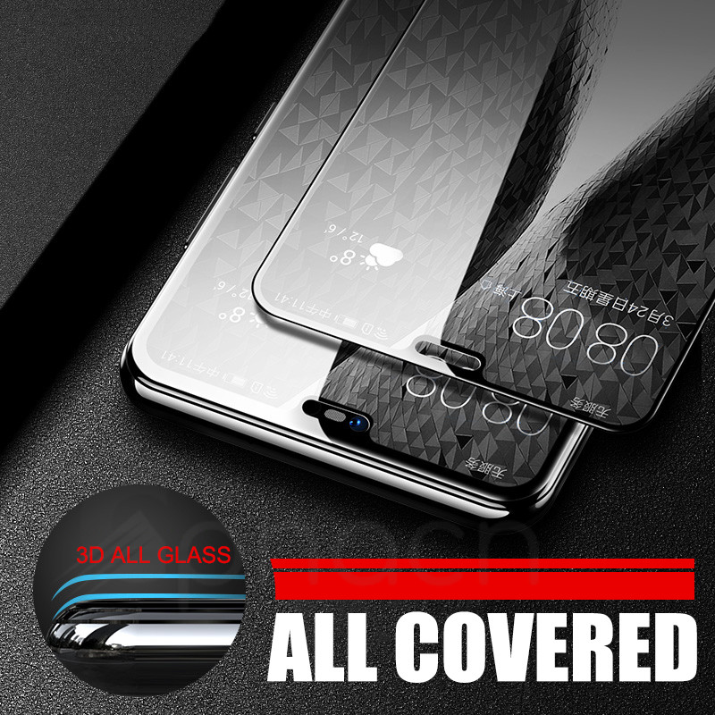 Image 4 - 9D Glass on the For Huawei P20 Pro Lite Plus Screen Protector Tempered Glass For Huawei P Smart 2019 Nova 3E 4 Protector Film-in Phone Screen Protectors from Cellphones & Telecommunications