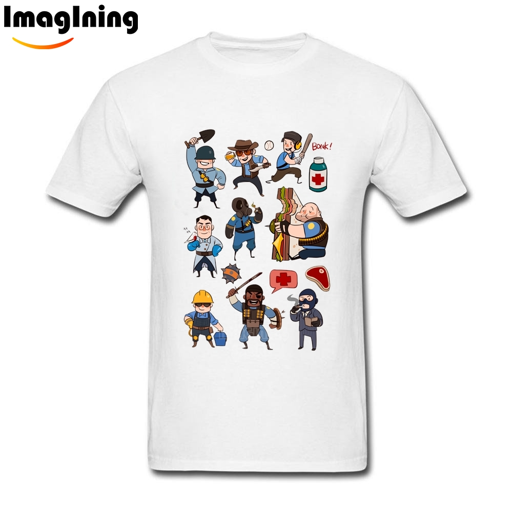 Design t shirt class - Cool Mens Men S Team Fortress 2 All Class T Shirts 2017 Designed Short Sleeve China