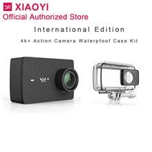 International Xiaomi Yi 4k Plus Action Camera Sport Cam Outdoor Kamera Screen Wifi Bluetooth Waterproof Touch Screen Camaras APP