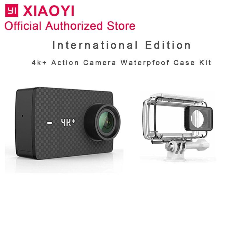 International Xiaomi Yi 4 k Plus caméra d'action caméra de sport En Plein Air Kamera Écran Wifi Bluetooth Étanche écran tactile Camaras APP