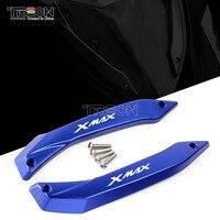 CNC Accessories For YAMAHA XMAX 125 250 300 400 2017 2018 Motorcycle Windshield Deflectors Windscreens Bracket Set Protectors