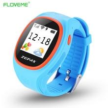 Floveme kinder smart watch anti-verlorene gps track smartwatch sos call-sim-karte armbanduhren passometer armband armband