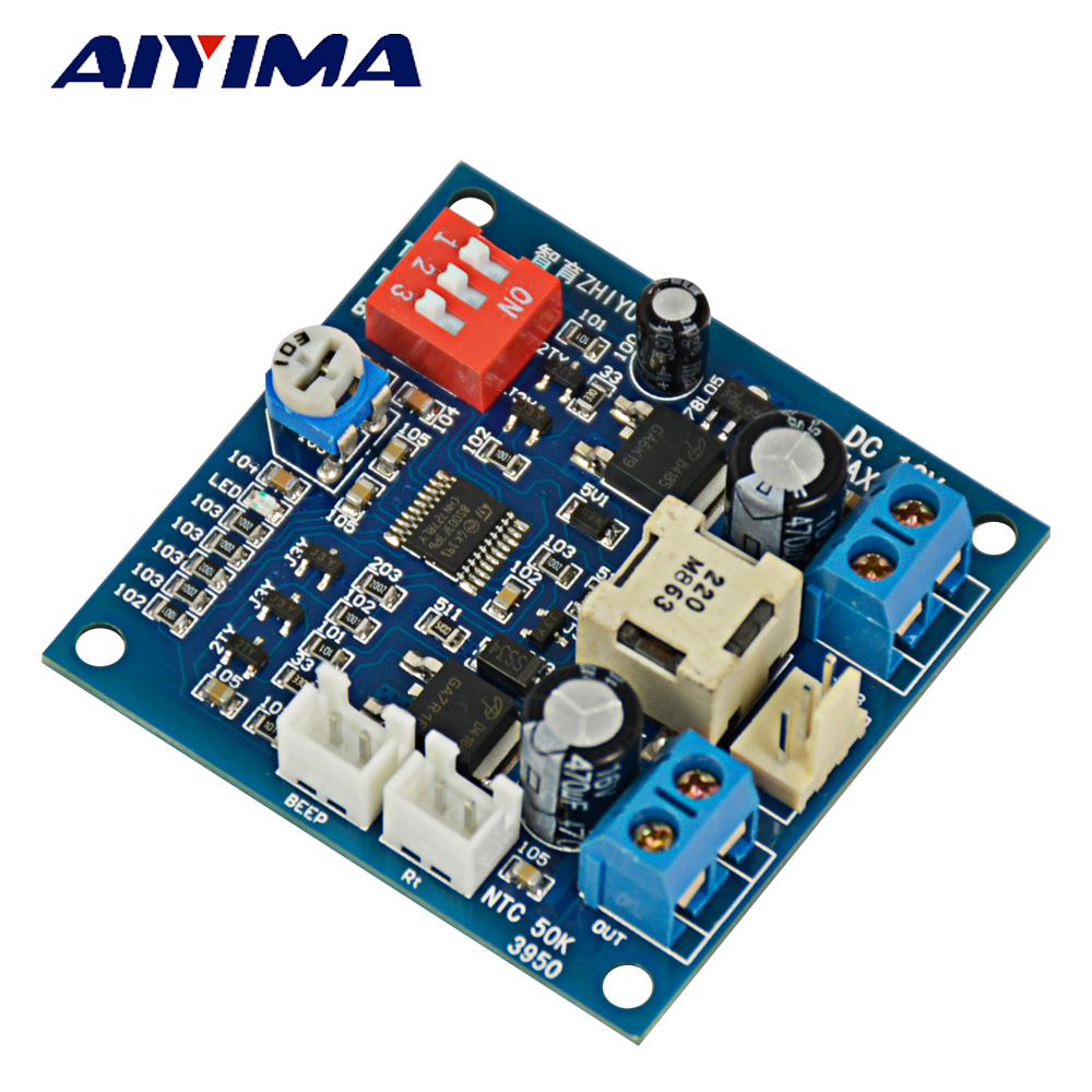 Aiyima Dc 12v Pwm Pc Cpu Fan Temperature Control Speed Controller Design Of Controlled Boost Converter Circuit Max 5a Alarm In Motor From Home Improvement On Alibaba