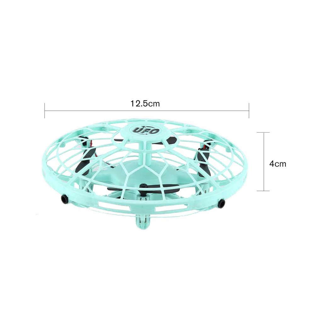 AX 8601 Mini RC Drone with Sensors 2 4G 4CH Quadcopter Gyro Fly Ball Smart Shatterproof Pocket UFO Safe Toys for Kids in RC Helicopters from Toys Hobbies