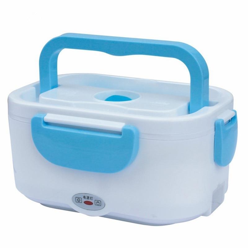 Boîte à lunch de chauffage électrique alimentaire De Voiture 12 V/110 V/220 V Électrique Chauffage Déjeuner Boîtes Bento Boîte Chauffe-repas Boîte À Lunch Riz Dîner Alimentaire