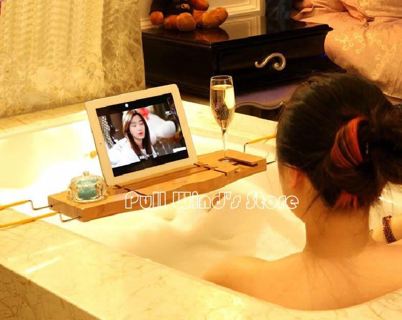 Creative Bathtub Storage Rack Bamboo Multi Functio. Online Get Cheap Bath Rack Wooden  Aliexpress com   Alibaba Group