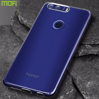 For Huawei Honor 8 Case Tpu Soft Cover Transparent Protective Case Mofi Original Honor 8 Back