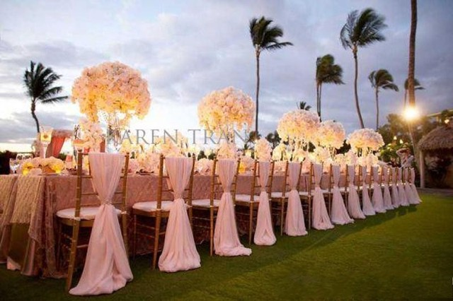 10 Pieces Wedding Decoration Chair Sashes Covers Wedding Decorations Banquet Venue Decoration Elegant Chair Sash