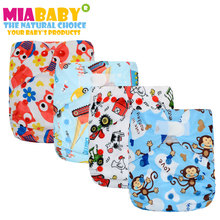 Miababy/счастлив флейта 1 шт. большой карман пеленки для до 2 лет ребенка, размер регулируется и подходит для талии 36-58 см