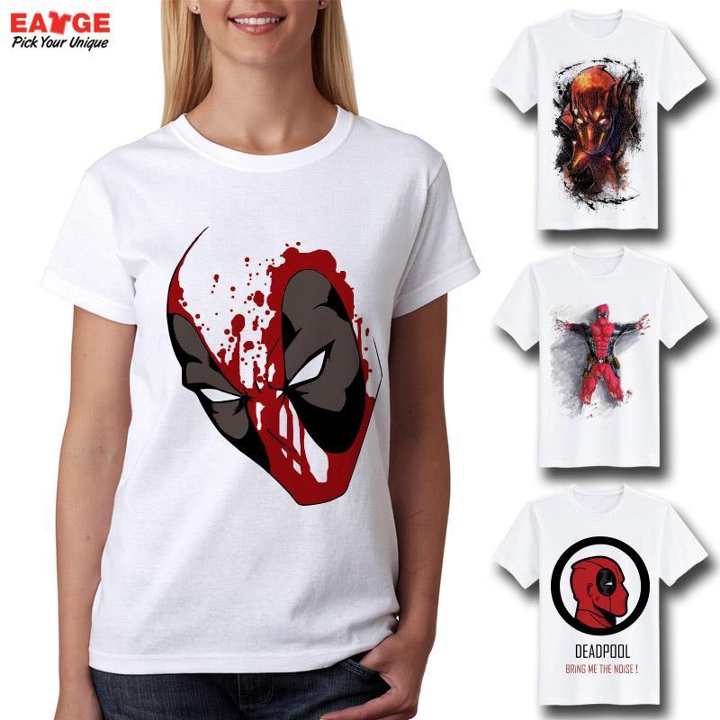 aliexpresscom buy deadpool t shirt creative design 3d t shirt funny anime tee pattern 2016 fashion t shirt for men women tops brand clothing erkek from