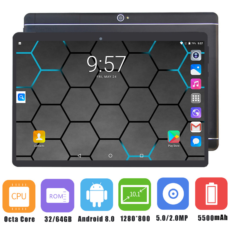 Free Shipping 10 inch tablet Octa Core 3G 4G FDD LTE Phablet 4GB RAM 64GB ROM