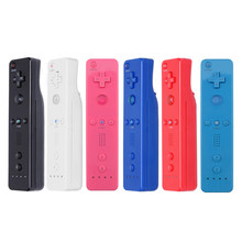 7 Colors 1pcs Wireless Gamepad For Nintend Wii Game Remote Controller for Wii Remote Controller Joystick without Motion Plus(China)