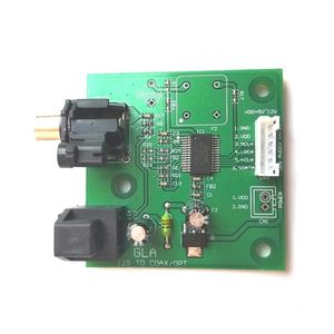 Image 3 - I2S SPDIF koaksiyel Fiber çıkış kartı/IIS girişi koaksiyel DC 5V 12v güç desteği örnekleme 44.1K ~ 192K