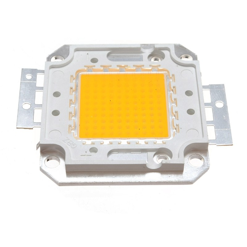 Warm White /White COB LED Chip 10W 20W 30W 50W 80W100W DC10V-32V High Power Epistar Integrated Beads SMD For Floodlight 45*45MIL