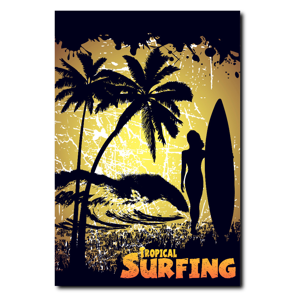 Unusual Surfing Wall Art Ideas - The Wall Art Decorations ...