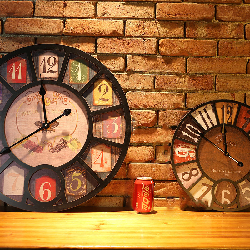 wall clock retro (10)