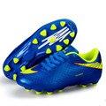 Fútbol Grapas Superfly Haute Chevilles 2017 Zapatos Chicos Y Chicas Zapatillas de deporte de Fútbol de Fútbol de Formación Profesional Para Los Niños