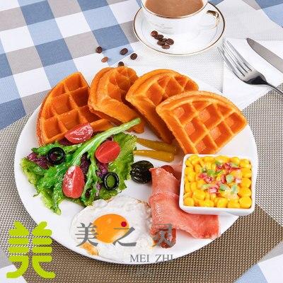 Diffuse koffie muffin volledige westerse custom simulatie model van een wafel model voedsel voedsel nep voedsel hotel benodigdheden - 2