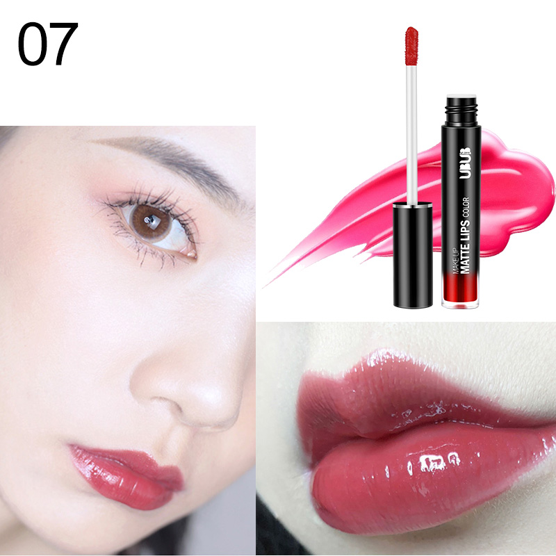 1 Pcs Lip Glaze Lipstick Long Lasting Moisturizing Fashion for Women Lady Student WH998 3