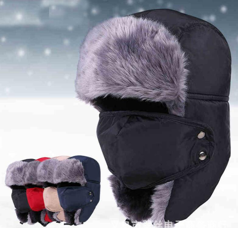 Winter-Hat Aviator Trooper Russian Army Ushanka Earflaps Woman for Men Thicken High-Quality