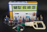 body healthcare vacuum cupping device. 12 tank vacuum magnetic therapy devices massager therapy suction apparatus cups