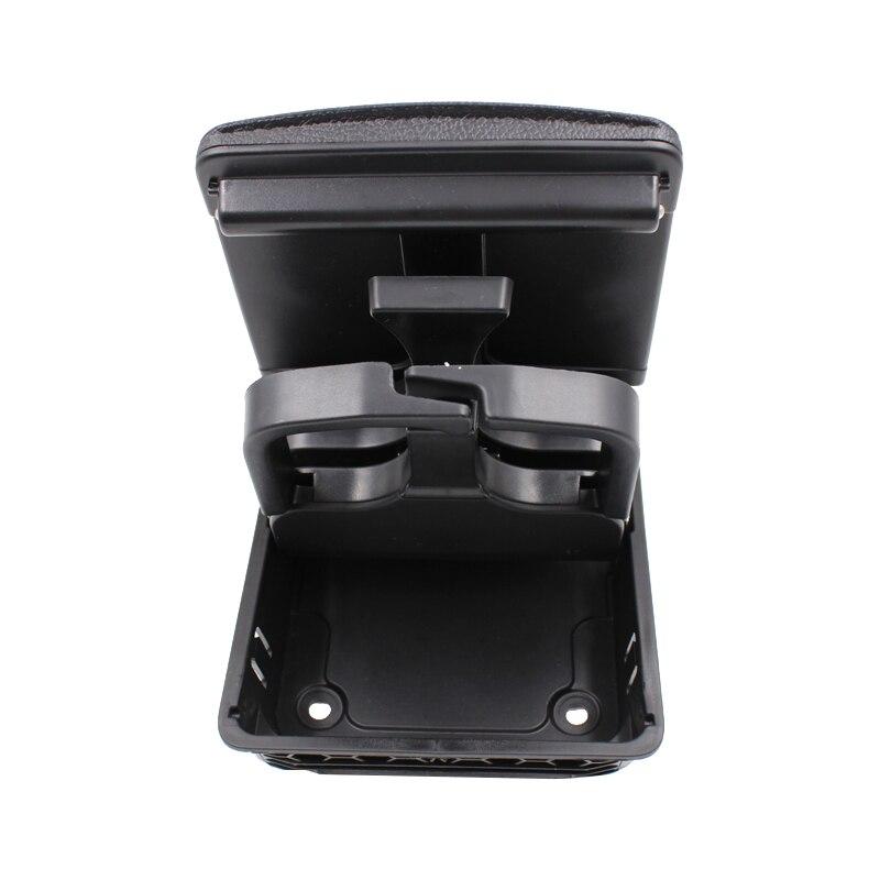 YAOPEI 1K0862532 Pieghevole Center Console Cup Posteriore Per Volkswagen Golf 5 6 Nero 1K0862533