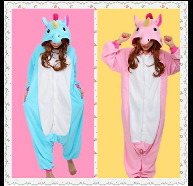 Nouvelle Arrivée Animal de Bande Dessinée Costumes Licorne pour Unisexe Ladys Nouveau Style Rose Licorne Conception