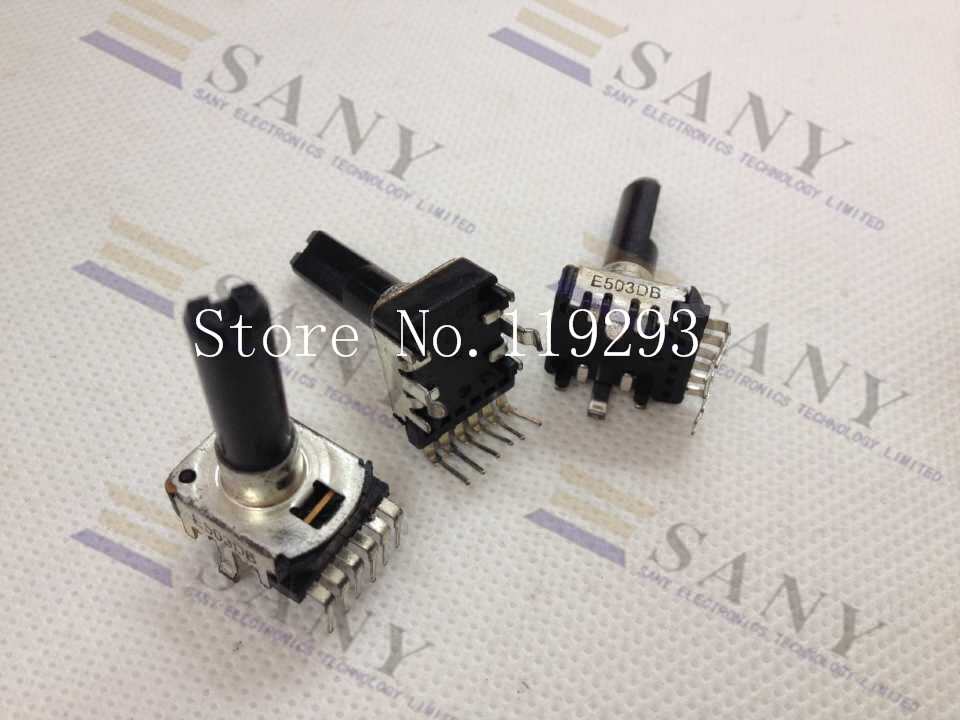 lan lan Japanese Original Empire Noble Rk12-e503db B50k 25mm Handle 6 Feet Potentiometer--10pcs/lot bella