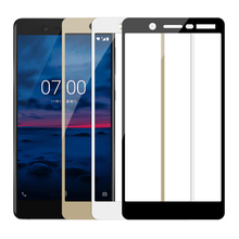 Tempered Glass For Nokia 5 6 2 3 2018 Full Cover Screen Prot