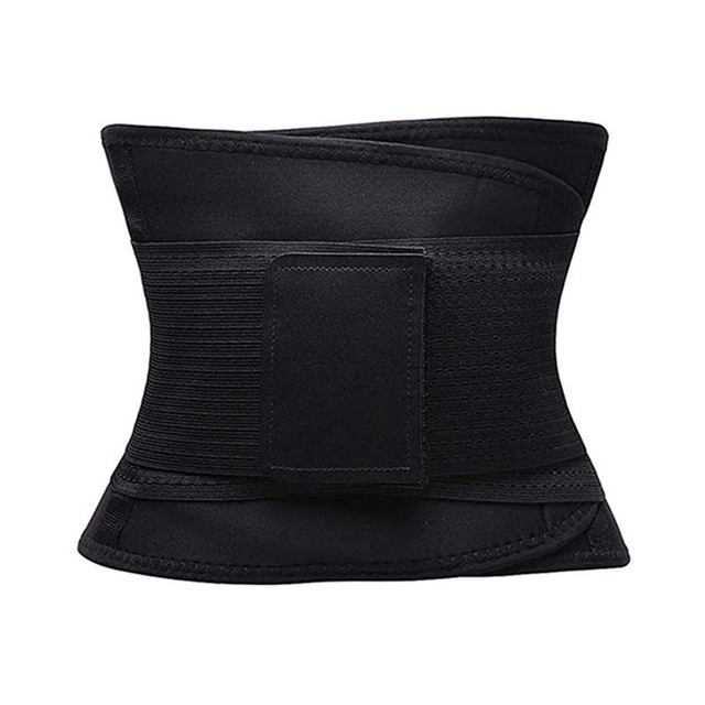 Waist Support Slimming Sweat Belt Trimmer Body Shaper Workout Fitness Safety Back Belt Postpartum Abdominal Elastic Trainer 3