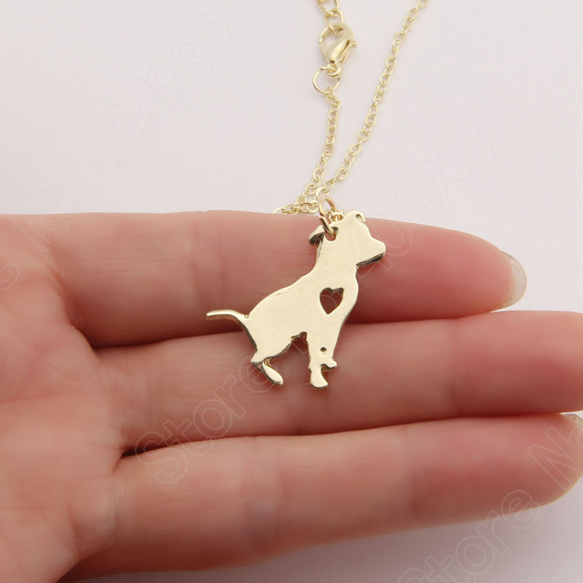 1pcs pit bull necklace pitbull dog pendant pet puppy necklaces 1pcs pit bull necklace pitbull dog pendant pet puppy necklaces pendants delicate women necklace animal aloadofball Choice Image