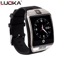 LUOKA Q18 Passometer Smart watch with Touch Screen camera Support TF card Bluetooth smartwatch for Android IOS Phone