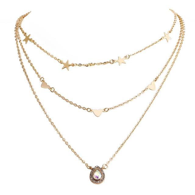 Long Tassel Star Necklaces...
