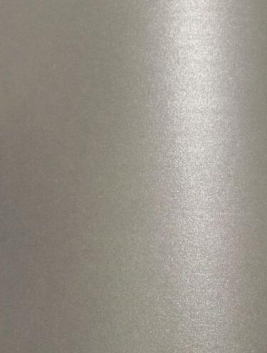 40 Sheets Size A4 Silver Grey Double Sided Shimmer Metallic Shine Cardstock Pearlescent Thick Paper Card 230gsm