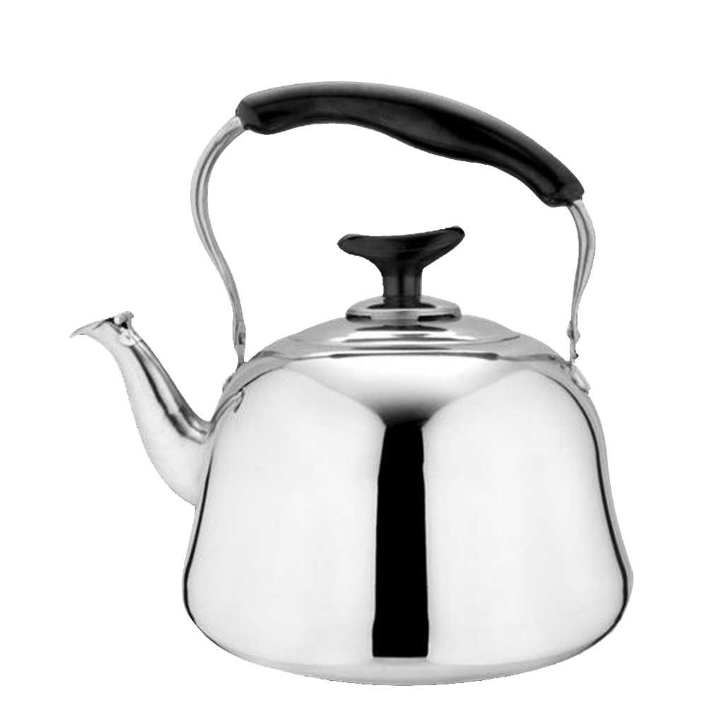 3L Tea Kettle Stainless Steel Whistling Coffee Teapot Teakettle for Stovetop