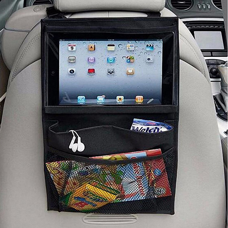 2017 Car Seat iPad Hanging Bag Holder Hook Car Storage For Toy PVC Nylon Pocket Car Seat Hanging Storage Bags Organizer & Car Door Pockets Reviews - Online Shopping Car Door Pockets ... Pezcame.Com