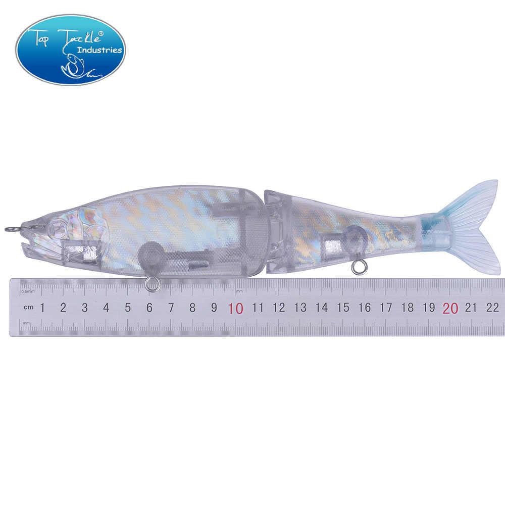 """230 мм 9 """"110g 3,88 oz"""" PILUM """"медленно тонущий плавающий Неокрашенный DIY с глазами большой бас Рыбалка Соединенные приманки Рыболовная Приманка"""