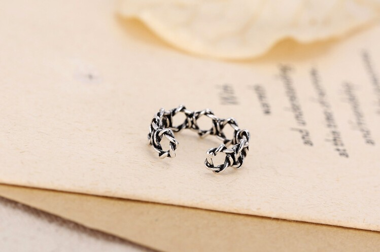 New arrival hot sell retro style Thai 925 sterling silver ladies - Fine Jewelry - Photo 6