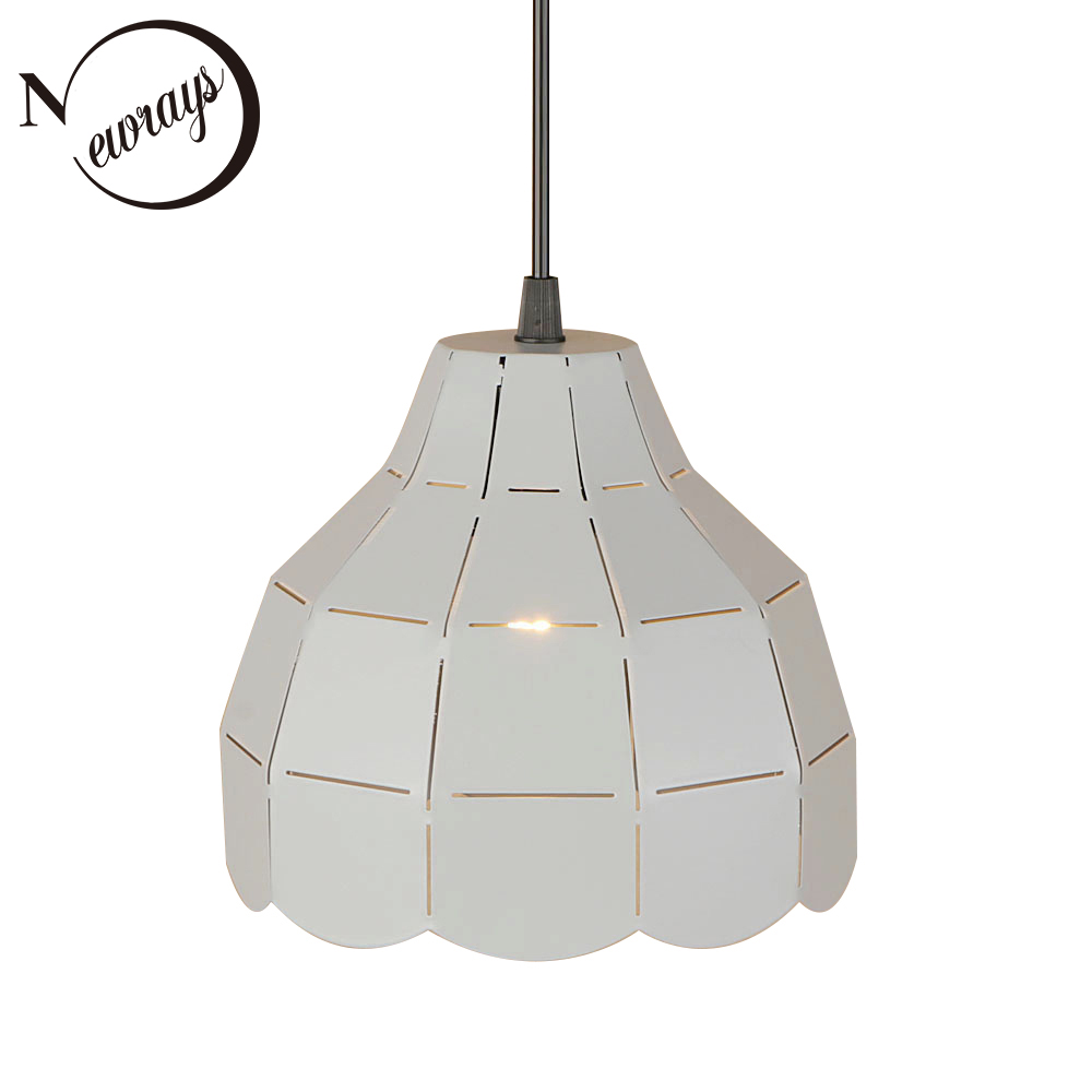 Loft country pendant light LED E27 modern simple hanging lamp with 4 colors for kitchen restaurant living room hotel cafe study zx modern acryl chandelier individuality meteor shower led pendant lamp bar cafe restaurant living room study hanging wire light
