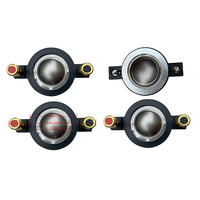 STARAUDIO 4Pcs 25MM PA Speaker Driver Tweeter Replacement Diaphragms Karaoke KTV Stage Party Speaker Titanium Compression SDP 25