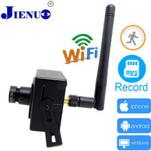 ip camera 720p HD wireless Home security monitoring cctv p2p mini smart cameras wifi cam system  JIENU