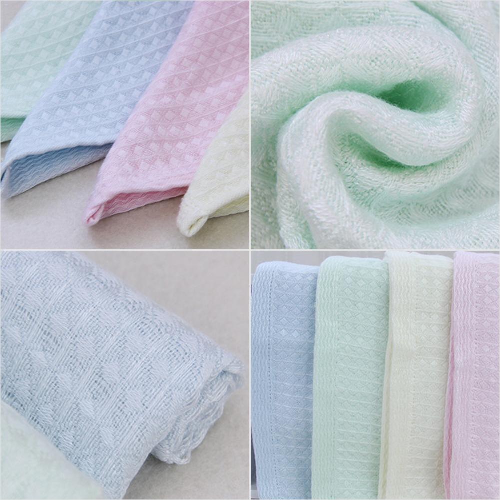 Baby Bamboo Fiber Gauze Saliva Towel Soft Skin Care Hand Towel Handkerchief Toddler Nursing Bath Towels
