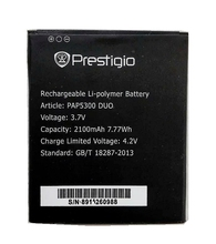 PAP5300 DUO 2100mah High Quality Replacement Li-ion Battery for Prestigio MultiPhone
