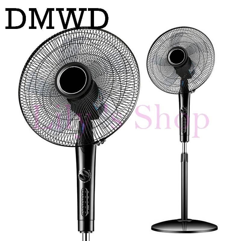 Electric Fan Stand Fan Home use Mechanical Desktop remote air blower timer mute household dormitory timing shekehead EU US plug