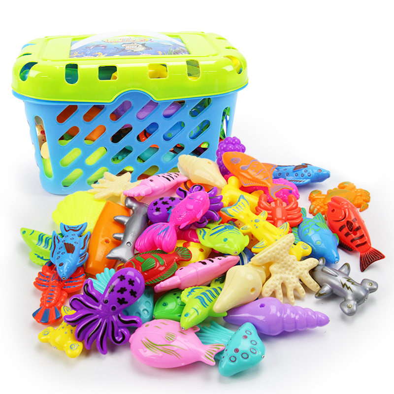 Summer Hot Children Fishing Fishing Toys With Double Rod Fishing Fishing Set Toys
