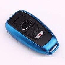 Высокое качество, чехол для автомобильного ключа, сумка для хранения, защита для Subaru XV Forester Outback Subaru BRZ, чехол для ключа без ключа