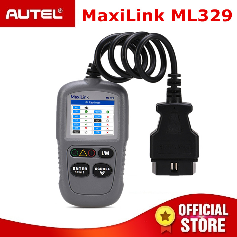Vernuftig Autel Maxilink Ml329 Code Reader One-click I/m Key Autovin Functie Automative Obdii Auto Diagnostische Tool Obd2 Scanner Waterdicht, Schokbestendig En Antimagnetisch