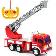 Hot Sale Wltoys Carro Controle Remoto New 1:16 Fire Ladder Radio Remote Control Car Rc Cars Toys With Music And Light